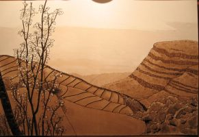 Paysage, WIP4 by Dathamir