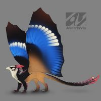 Dragon design: grey-headed kingfisher by AverrisVis