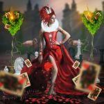 The Queen of Hearts... by RavenYoungblood-art