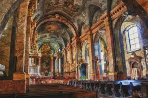 Basilica Interior HDR by Seth890603