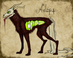 Creepy Adoptable - Closed by Madlaid