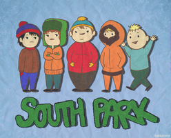 South Park by hazardbunny