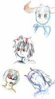 Homestuck Sketches by Kitten-Hachi-chan