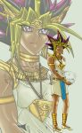 Walk by the Riverside - Atem by MagnaAngel