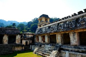 The Royal Palace of Palenque by taoamelia