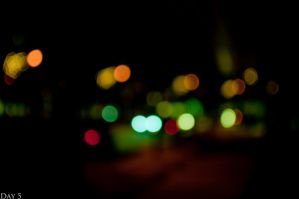 5-365. Bokeh Nights. by Th0max