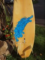 Nibi ~Surfboard art by JamieWardley