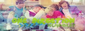 One Direction Rumble! Facebook Cover by AnelEditons