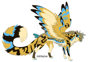 Winged Cheetah OC Auction by TaraviAdopts
