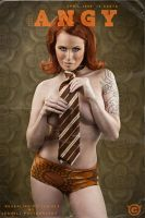Angy - 60s  playboy Tribute I by JenHell66