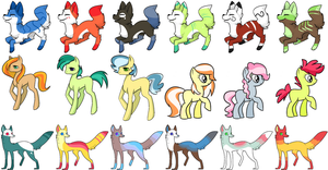 Varied Adopts (11/18 OPEN) by QueensAdopts