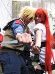 Kushina and Minato Cosplay by walkiria2