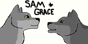 Sam and Grace by WildWolfWarrior100