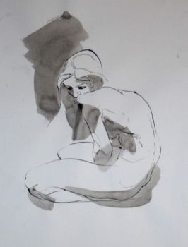Life drawing 4 by roughin