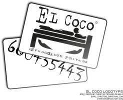 el coco logotype by christ139