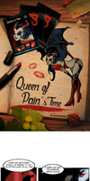 Queen of pain's time by xofks12