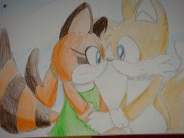 Tails and Marine again 8D by Open-your-Heart