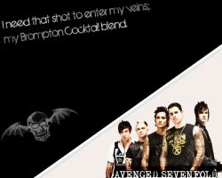 Avenged Sevenfold Wallpaper by bondofflamex3