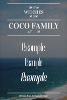 08 Coco Family.tff by 12WitchesStore