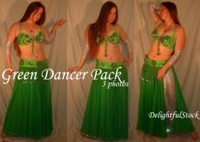 Green Dancer DelightfulStock by DelightfulStock