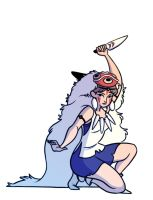 Princess Mononoke by StaceyRobson