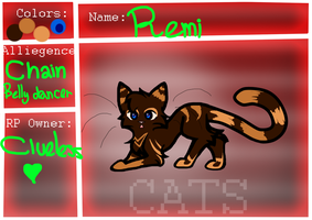 Remi application form (StR) by TheCluelessCat