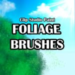 Foliage Brushes by Tazawa