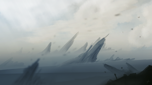 Speedpainting 15 - Barren Lands by Lucsy3012