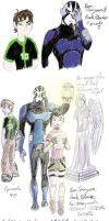 Ben 10 Omniverse sketches #4 by Mistovermoon