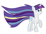 Rainbow Power Twilight In Rarity's Colors by kayleeyoung