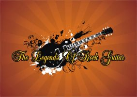 The Legends of Rock Guitars by GossiDesign
