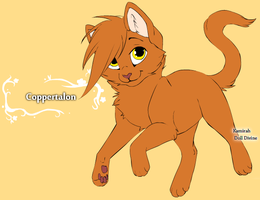 Coppertalon by Wanderisawesome