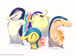 The Cyndaquil Gang by Kipine