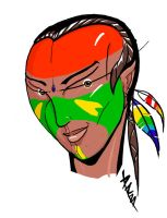 Brazil indio - indian by Octane-DRB