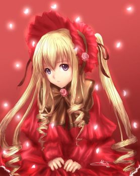 Shinku ::Rozen Maiden:: by Aluciz
