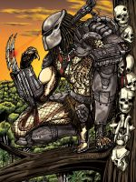 Predator  Preparing to Kill by leandro-sf