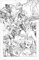 Pencil Samples - Wonder Woman 1 by LucianoVecchio
