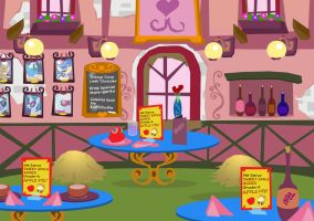 The Make Hay Cafe, Interior by PixelKitties