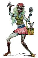 Darkotic Socialite Zombie by Schoonz