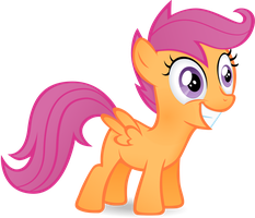 Scootalo's happy by Stinkehund