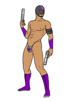 My Saints Row Protagonist by euthanasian