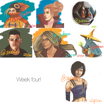 Week Four by Xadrea