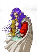 Elessar and Enlya by Destinyfall
