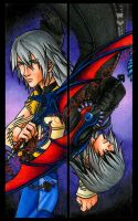 Riku Bookmark Set by psycrowe