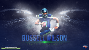 Russell Wilson by TheHawkeyeStudio