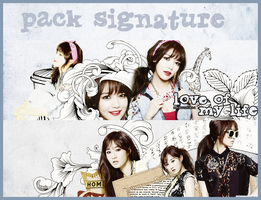 PACK SIGNATURE #O3 by ddhSheila