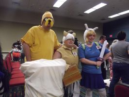 Jake, Cake, and Fionna by EmplehsADeviant