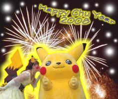 Happy Chu Year 2008 by pikabellechu