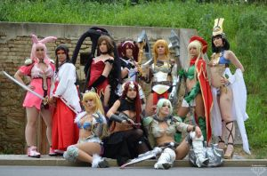 Queen's Blade Group by BlueBlackDiamond