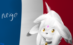 CG: French Cat , Neige by lifegiving